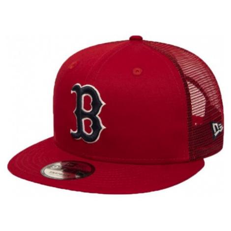 New Era 9FIFTY MLB ESSENTIAL A FRAME BOSTON RED SOX TRUCKER CAP red - Men's club trucker hat