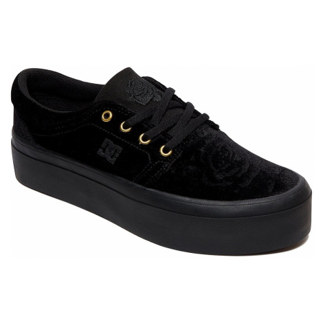 shoes DC Trase Platform TX SE - BL0/Black - women´s