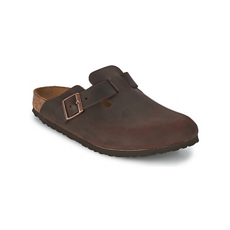 Birkenstock BOSTON PREMIUM men's Clogs (Shoes) in Brown