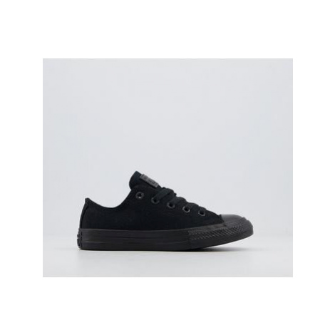 Converse All Star Low Youth BLACK MONO