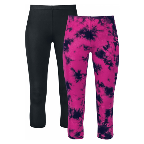 Full Volume by EMP - Made For Double Comfort - Leggings - black-pink