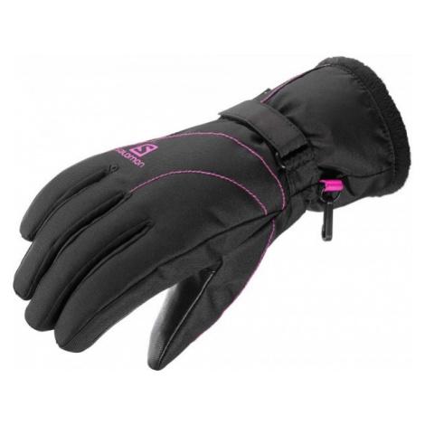Salomon FORCE GTX W black - Women's gloves