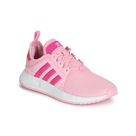 Adidas X_PLR J girls's Children's Shoes (Trainers) in Pink