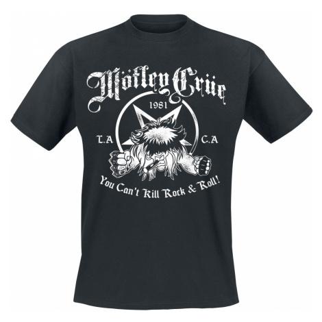 Mötley Crüe You Can't Kill Rock'n Roll T-Shirt black