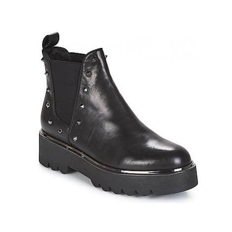 Café Noir EYSSA women's Mid Boots in Black