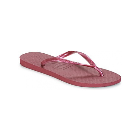 Havaianas SLIM women's Flip flops / Sandals (Shoes) in Pink