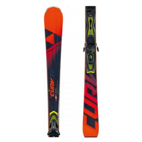 Fischer RC4 THE CURV TI AR + RC4 Z11 PR - Downhill skis