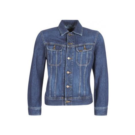 Lee SLIM RIDER men's Denim jacket in Blue