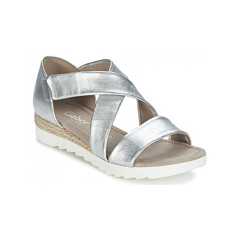 Gabor WOLETTE women's Sandals in Silver