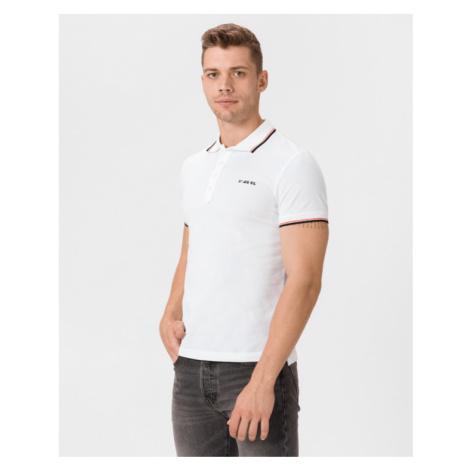 Diesel T-Randy-Broken Polo Shirt White