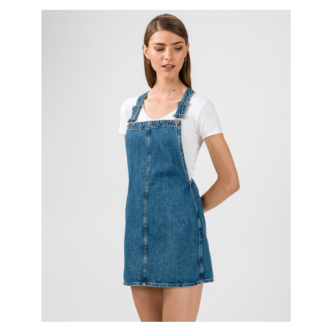 Pepe Jeans Skirt with suspenders Blue
