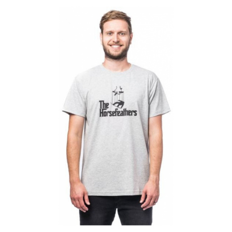 Horsefeathers OMERTA T-SHIRT grey - Men's T-shirt