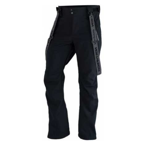 Northfinder LUX black - Men's softshell ski pants