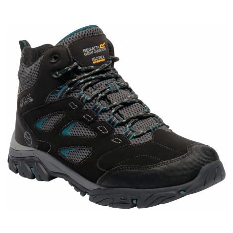 Regatta Womens Holcombe IEP Mid Walking Boots - Black / Deep Lake - 8