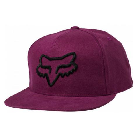 Fox INSTILL SNAPBACK red wine - Men's baseball cap