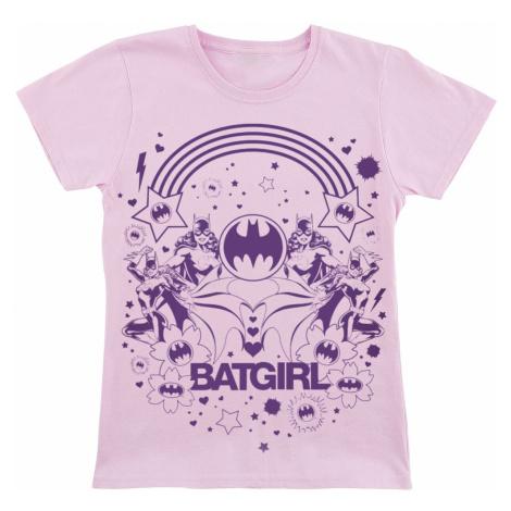 Batman Batgirl T-Shirt light pink