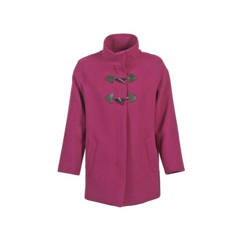 Benetton DILO women's Coat in Pink United Colors of Benetton