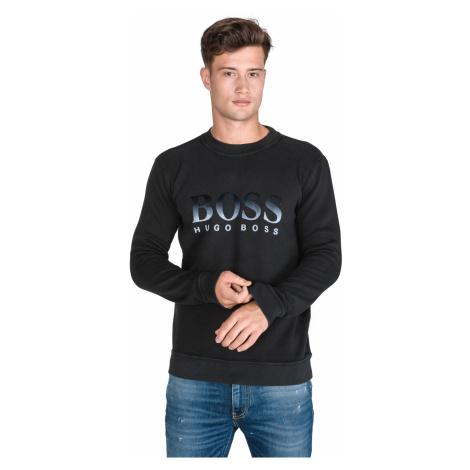 BOSS Weaver Sweatshirt Black Hugo Boss