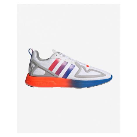 adidas Originals ZX 2K Flux Sneakers Red White