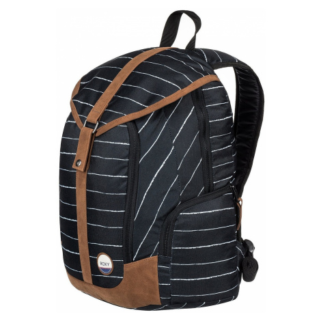 backpack Roxy Ready To Win - KVJ4/Anthracite Pencil Stripe