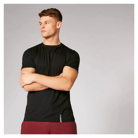 MP Men's Luxe Classic Crew T-Shirt - Black/Black (2 Pack) Myprotein