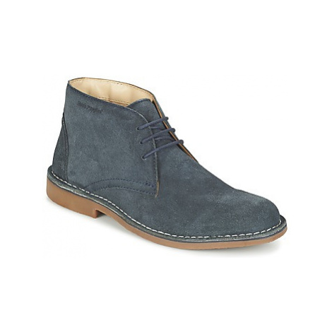 Hush puppies LORD men's Mid Boots in Blue
