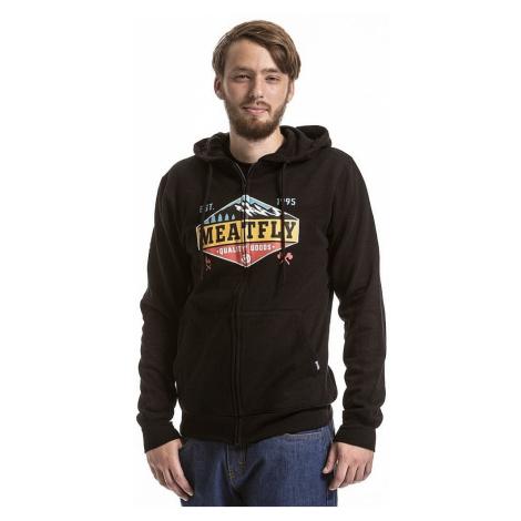 sweatshirt Meatfly Wanderlust Zip - A/Black - men´s