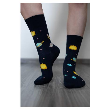 Barefoot Socks - Crew - Galaxy 43-46