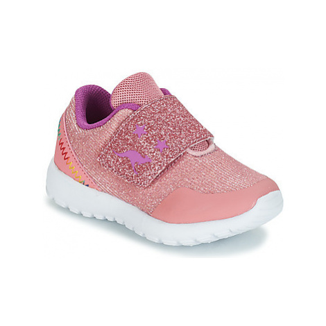 Kangaroos CITYLITE SV girls's Children's Shoes (Trainers) in Pink