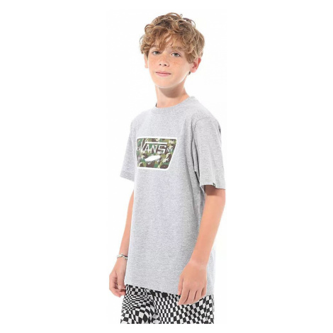 T-Shirt Vans Full Patch Fill - Athletic Heather/Dino Camo - boy´s