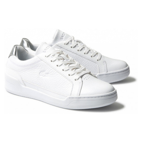 Lacoste CHALLENGE 120 white - Women's leather sneakers