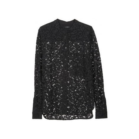 Joseph LANCE LACE women's Shirt in Black