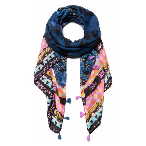 shawl Desigual 19WAWA06/Jazmine - 5000/Navy - women´s