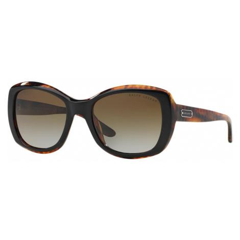 Ralph Lauren Woman RL8132 - Frame color: Black, Lens color: Brown, Size 55-21/140