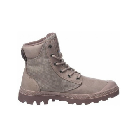 Palladium Pampa Sport Cuff WPN 73234-659-M women's Shoes (High-top Trainers) in Pink