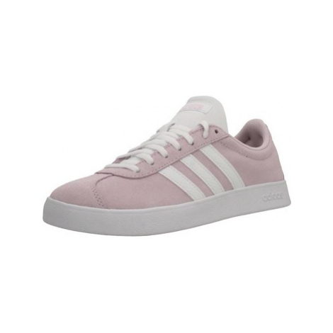 Adidas VL COURT 2.0 women's Shoes (Trainers) in Pink
