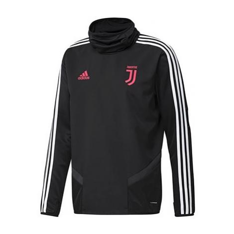 Juventus Training Warm Top - Black Adidas