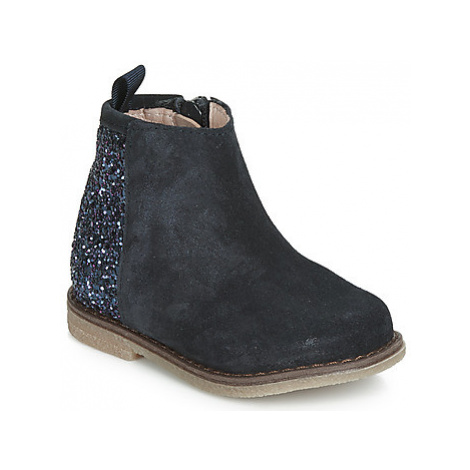 Acebo's 3120-MARINO-J girls's Children's Mid Boots in Blue