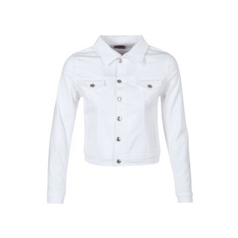 Yurban IHELEFI women's Denim jacket in White