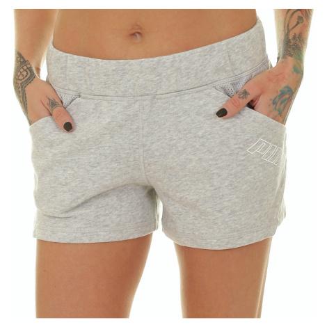 shorts Puma Yogini 3 - Light Gray Heather - women´s