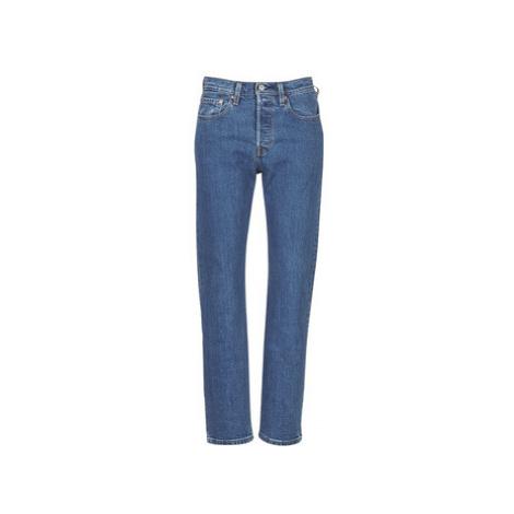 Levis 501 CROP women's Jeans in Blue Levi´s