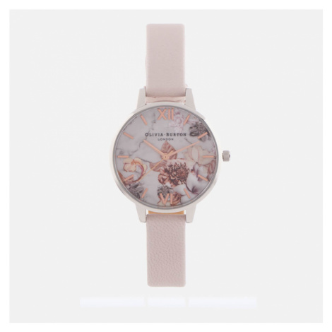 Olivia Burton Women's Marble Florals - Pink, Rose Gold & Silver