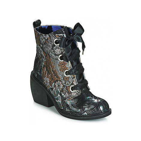 Irregular Choice QUICK GETAWAY women's Low Ankle Boots in Black