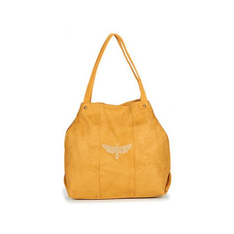 Les Petites Bombes S19B0202 women's Shopper bag in Yellow