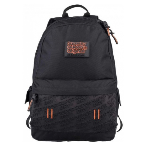 Superdry NEOPRENE EMBOSS PANEL MONTANA black - Women's backpack