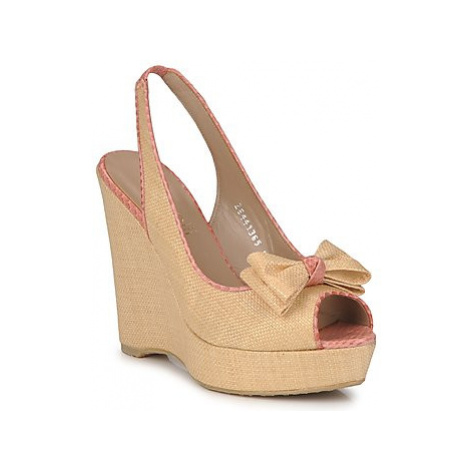 Fericelli MARLINE women's Sandals in Beige