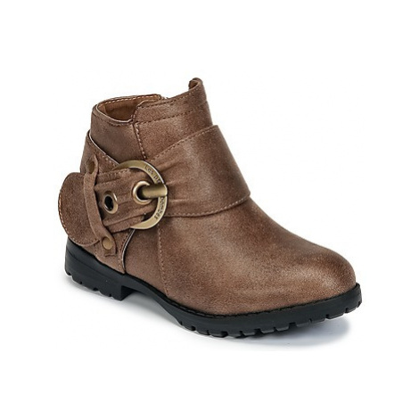 Les Petites Bombes J DIANE girls's Children's Mid Boots in Brown