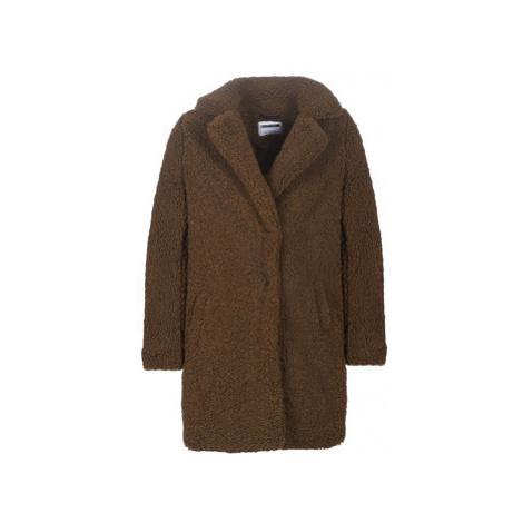 Noisy May NMGABI women's Coat in Brown