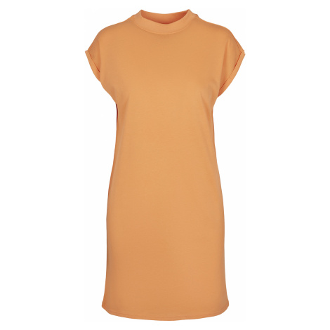 Urban Classics - Ladies Turtle Extended Shoulder Dress - Dress - apricot
