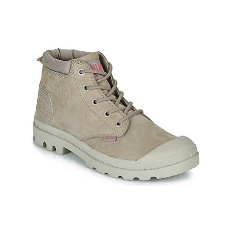Palladium PAMPA LO CUFF LEA women's Mid Boots in Grey